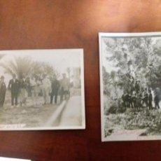 Fotografía antigua: GRUPO DE AMIGOS GUALA. IBI ALICANTE 1922 - 24. Lote 152550977