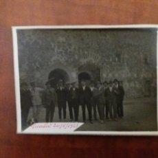 Fotografía antigua: GRUPO DE AMIGOS GUALA IBI ALICANTE 1923. Lote 152551704