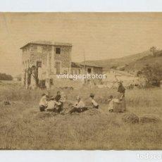 Fotografía antigua: OLOT POSIBLEMENTE, DATOS REVERSOS. 1890 APROX. ALBÚMINA SIN MONTAR 11,7X16CM.. Lote 152594194