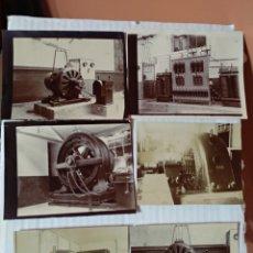 Fotografía antigua: 6 FOTOGRAFÍAS AÑO 1900 COMPAÑIA ANONIMA BASCONIA BASAURI BILBAO. Lote 152847609
