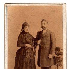 Fotografía antigua: FOTOGRAFIA ALBUMINA OTERO. MADRID. CIRCA 1900. Lote 153069672
