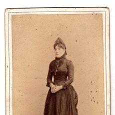 Fotografía antigua: FOTOGRAFIA ALBUMINA OTERO. MADRID. CIRCA 1900. Lote 153069994