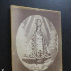 Fotografía antigua: YECLA MURCIA VIRGEN DEL CASTILLO FOTOGRAFIA ALBUMINA SIGLO XIX 10,5 X 17 CMTS. Lote 153671702