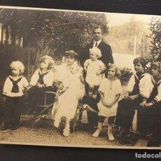 Fotografía antigua: LOTE EMPERATRIZ ZITA. LEKEITIO, BIZKAIA. AÑOS 1923-28. 5 FOTOGRAFIAS - 2 NOTAS MANUSCRITAS.. Lote 153681877