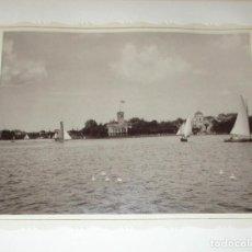 Fotografía antigua: DOS FOTOGRAFÍAS EN HUECOGRABADO DE HAMBURGO. CONRAD DÖRING. ORIGINALES DE 1855 Y 1871.. Lote 153789134