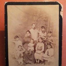 Fotografía antigua: ANTIGUA GRAN FOTOGRAFIA GRUPO FAMILIAR DARBLADE HIJO TORREVIEJA ALICANTE. Lote 153822854