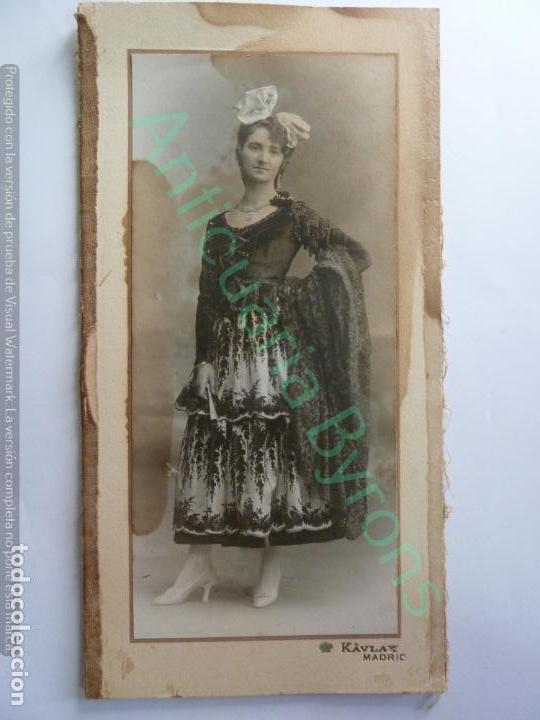 Fotografía antigua: FOTOGRAFÍA DOBLE. KAVLAK. SUSANA VÍCTOR Y MARTÍNEZ DE TEJADA. BAILE CONDESA DE ARCENTALES. 1917 - Foto 2 - 154265582