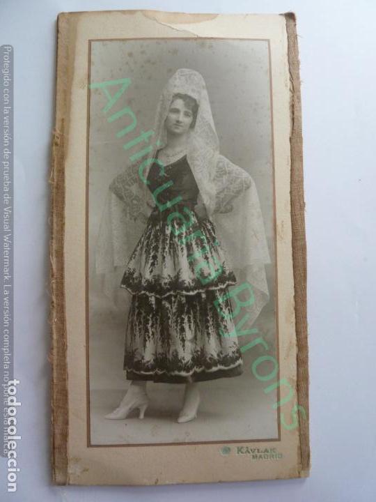 Fotografía antigua: FOTOGRAFÍA DOBLE. KAVLAK. SUSANA VÍCTOR Y MARTÍNEZ DE TEJADA. BAILE CONDESA DE ARCENTALES. 1917 - Foto 5 - 154265582