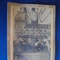 Fotografía antigua: (FOT-190300)FOTOGRAFIA GLOBO CAUTIVO - BARCELONA - 1908 - FOT.L.DONOSO. Lote 154488114