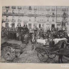 Fotografía antigua: ÁLBUM BILBAO ENTIERRO CON COCHE DE CABALLOS. 25 FOTOGRAFIAS DE 23,5 X 28 CM. Lote 154966958