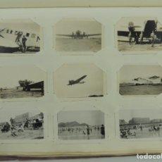 Fotografía antigua: ANTIGUO ALBUM DE FOTOS EN BLANCO Y NEGRO. Lote 155239446
