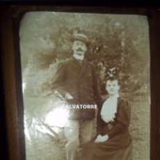 Alte Fotografie - ANTIGUA FOTOGRAFIA. PAREJA , CIRCA 1910 - 155543142