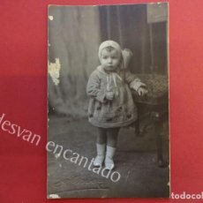 Fotografía antigua: ANTIGUA FOTO ALBUMINA 14 X 9 CTMS. AMER FOTÓGRAFO. Lote 155800738