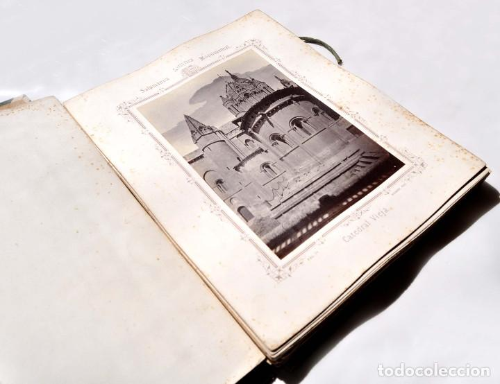 Fotografía antigua: SALAMANCA.- ARTISTICA Y MONUMENTAL 34 ABÚMINAS DEL FOTOGRAFO PEDRO MARTÍNEZ DE HEBERT. 32 X 25,5 CM - Foto 4 - 155927306