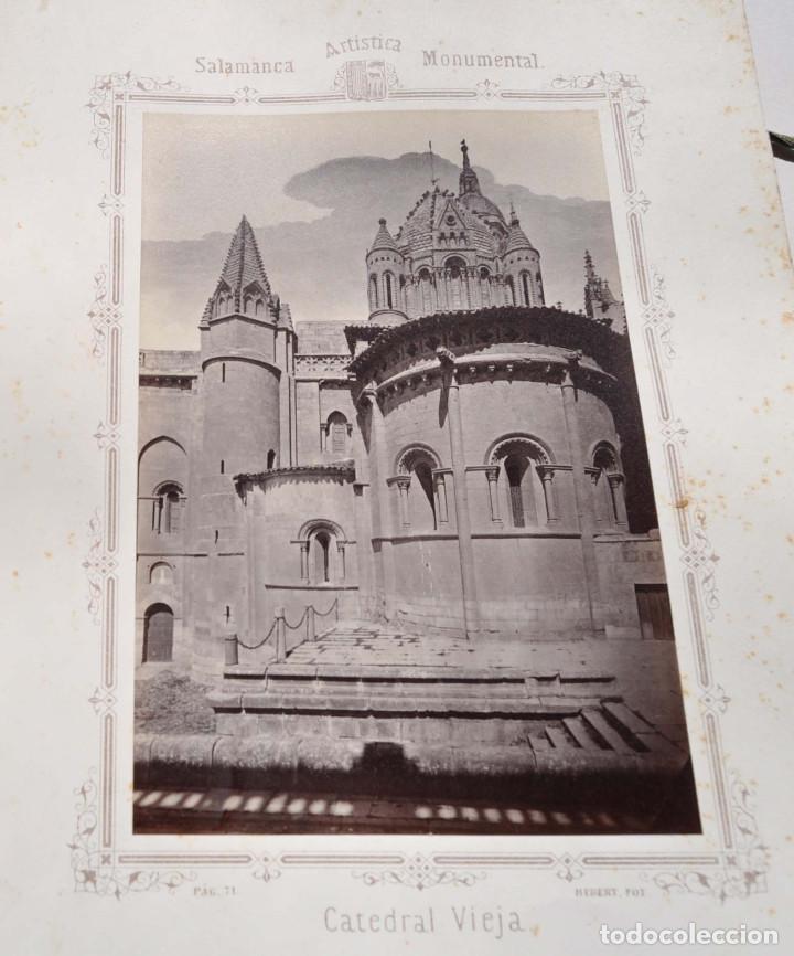 Fotografía antigua: SALAMANCA.- ARTISTICA Y MONUMENTAL 34 ABÚMINAS DEL FOTOGRAFO PEDRO MARTÍNEZ DE HEBERT. 32 X 25,5 CM - Foto 6 - 155927306