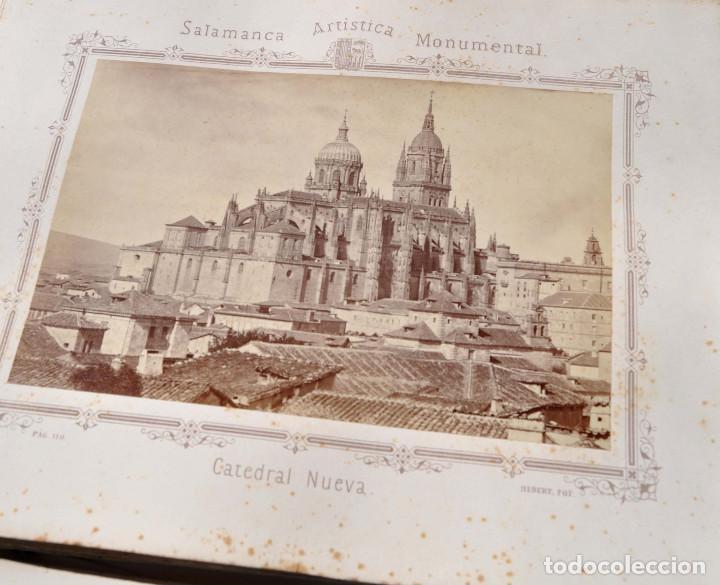 Fotografía antigua: SALAMANCA.- ARTISTICA Y MONUMENTAL 34 ABÚMINAS DEL FOTOGRAFO PEDRO MARTÍNEZ DE HEBERT. 32 X 25,5 CM - Foto 14 - 155927306