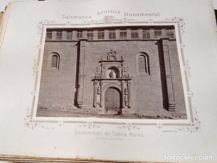 Fotografía antigua: SALAMANCA.- ARTISTICA Y MONUMENTAL 34 ABÚMINAS DEL FOTOGRAFO PEDRO MARTÍNEZ DE HEBERT. 32 X 25,5 CM - Foto 20 - 155927306