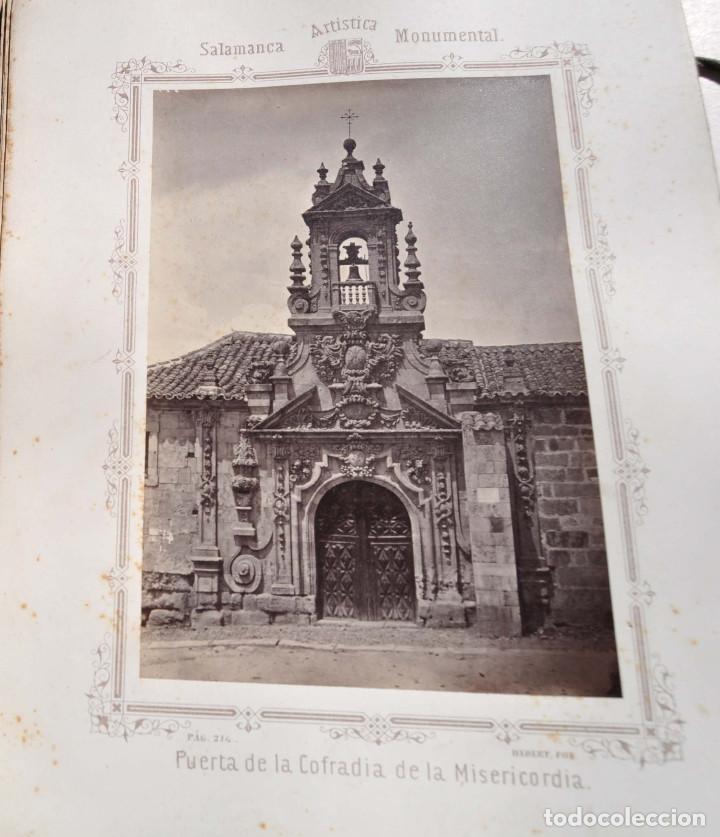 Fotografía antigua: SALAMANCA.- ARTISTICA Y MONUMENTAL 34 ABÚMINAS DEL FOTOGRAFO PEDRO MARTÍNEZ DE HEBERT. 32 X 25,5 CM - Foto 21 - 155927306