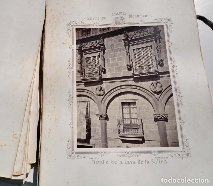 Fotografía antigua: SALAMANCA.- ARTISTICA Y MONUMENTAL 34 ABÚMINAS DEL FOTOGRAFO PEDRO MARTÍNEZ DE HEBERT. 32 X 25,5 CM - Foto 23 - 155927306