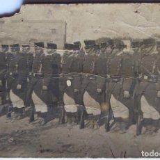Fotografía antigua: MILITARES TARRAGONA. Lote 155942066