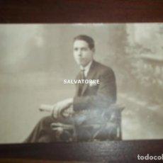Fotografía antigua: FOTO POSTAL. E.PAREJA. LA LAGUNA.TENERIFE.PHOTO ART.1926.DEDICADA. Lote 156507998