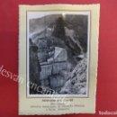 Fotografía antigua: PANTANO DEL CENAJO (RÍO SEGURA) MORATALLA Y HELLIN. 1953. FOTO CON CARACTERÍSTICAS AL DORSO. Lote 156513370