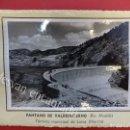 Fotografía antigua: PANTANO DE VALDEINFIERNO. (RÍO ALCAIDE) LORCA (MURCIA)1953. FOTO CON CARACTERÍSTICAS AL DORSO. Lote 156513734