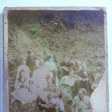 Fotografía antigua: FOTOGRAFÍA ANTIGUA ORIGINAL. FAMILIA. NIÑOS LUCHA CANARIA (15,5 X 12 CM). Lote 157689410