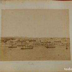 Fotografía antigua: 2 FOTOGRAFÍAS PORTUGAL. LISBOA VISTA PANORÁMICA Y CLAUSTRO DE BELEM. FRANCESCO ROCCHINI . Lote 157814782