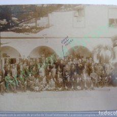 Fotografía antigua: FOTOGRAFÍA ANTIGUA ORIGINAL. CABALLEROS. CANARIAS. (23 X 17 CM). Lote 158251518