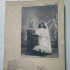 Fotografía antigua: ANTIGUA FOTOGRAFIA. WELKIN FOTOGRAFO. VALLADOLID. HARO.. Lote 158435910