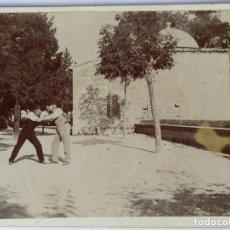 Fotografía antigua: ALCOY ERMITA SAN ROQUE. Lote 158775638