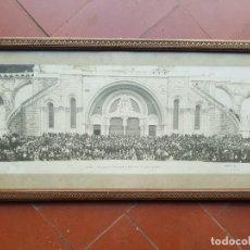 Fotografía antigua: FOTO PANORAMICA LOURDES 1914. Lote 159468302