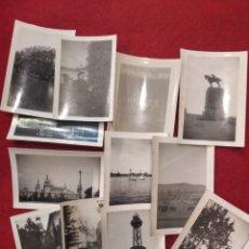 Fotografía antigua: LOTE DE 12 FOTOGRAFÍAS, PEQUEÑO FORMATO BARCELONA. MONTJUIC , PUERTO, MONTSERRAT.. Lote 159551525