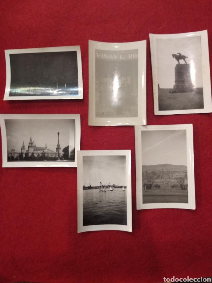 Fotografía antigua: Lote de 12 fotografías, pequeño formato Barcelona. Montjuic , Puerto, Montserrat. - Foto 2 - 159551525