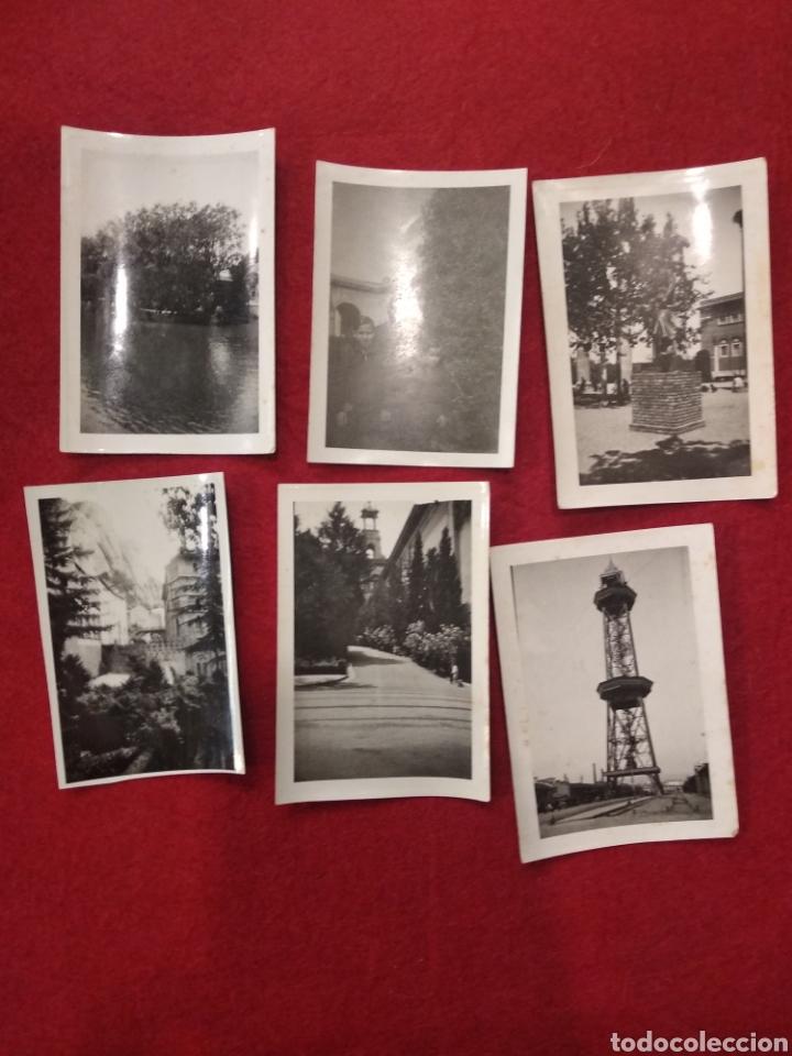 Fotografía antigua: Lote de 12 fotografías, pequeño formato Barcelona. Montjuic , Puerto, Montserrat. - Foto 3 - 159551525