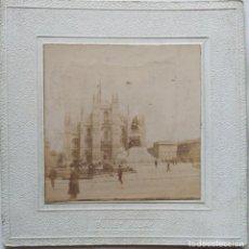 Fotografía antigua: MILAN. Lote 160610090