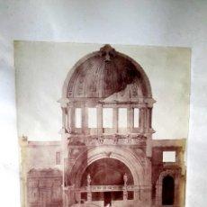 Fotografía antigua: ARQUITECTURA - 1900 - ALBUMINAS GRAN FORMATO - 4 FOTOGRAFIAS. Lote 161223738