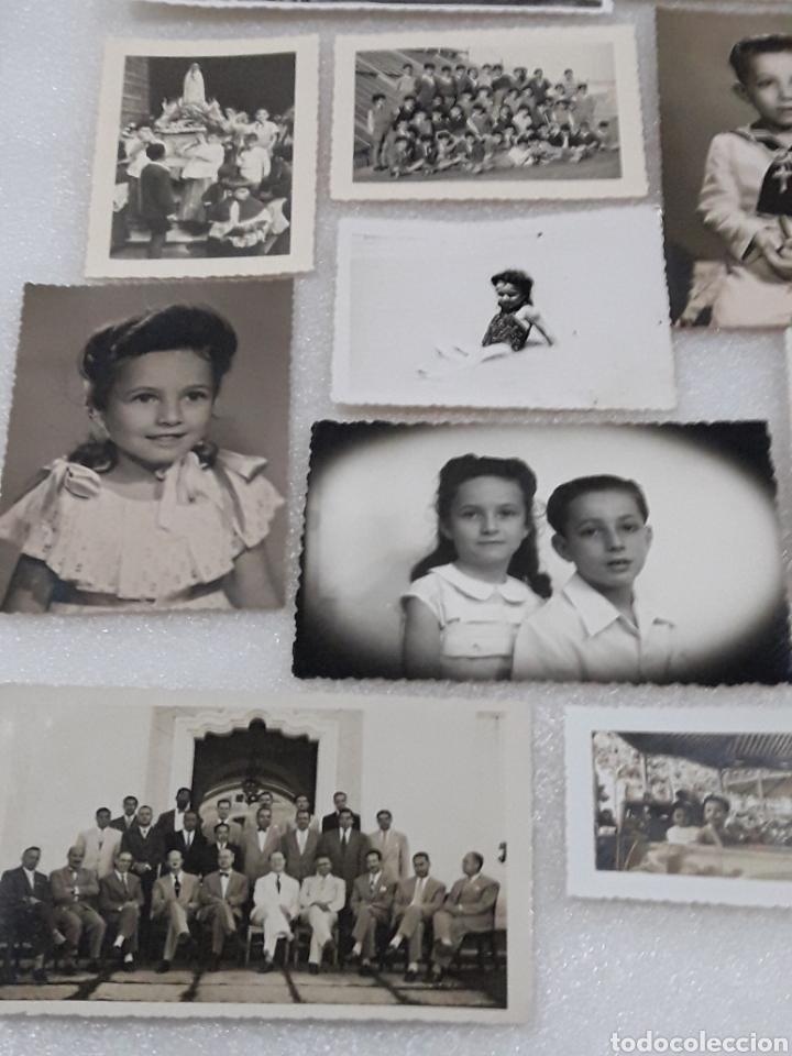 Fotografía antigua: LOTAZO ANTIGUAS FOTOS TROQUELADAS - Foto 2 - 161290424