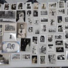 Fotografía antigua: LOTAZO ANTIGUAS FOTOS TROQUELADAS. Lote 161290424