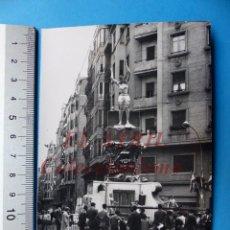 Fotografía antigua: VALENCIA - FALLAS - FOTOGRAFICA - AÑOS 1940-50. Lote 162090174