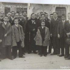 Alte Fotografie - ONTENIENTE CRUZ ROJA 1928 - 162440474