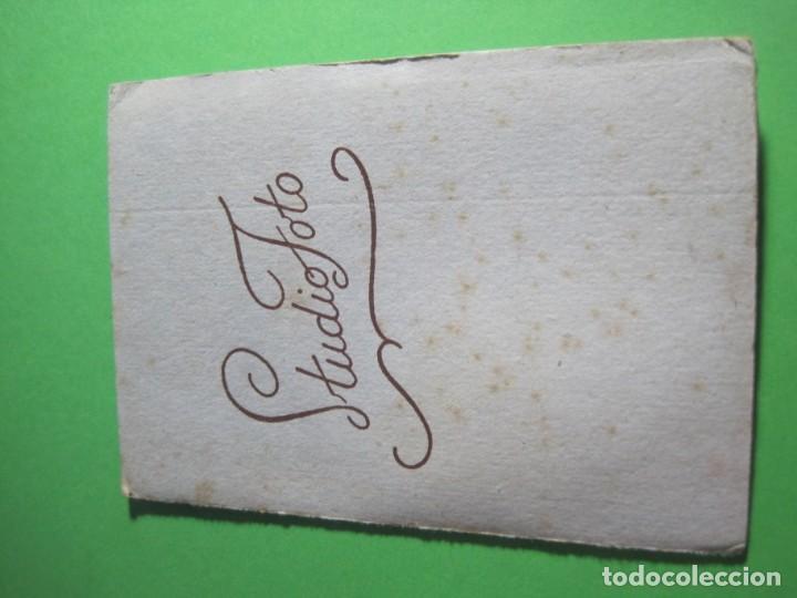 Fotografía antigua: ANTIGUA FOTO DE ESTUDIO CARTON DURO - REF-P-8 - Foto 3 - 163807698