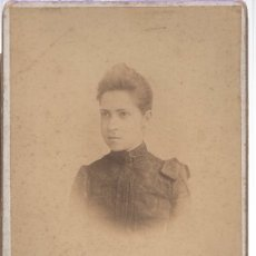 Fotografía antigua: FOTOGRAFIA ALBUMINA ALMAYSO. CALLE AMANIEL, 29. MADRID. Lote 163868065
