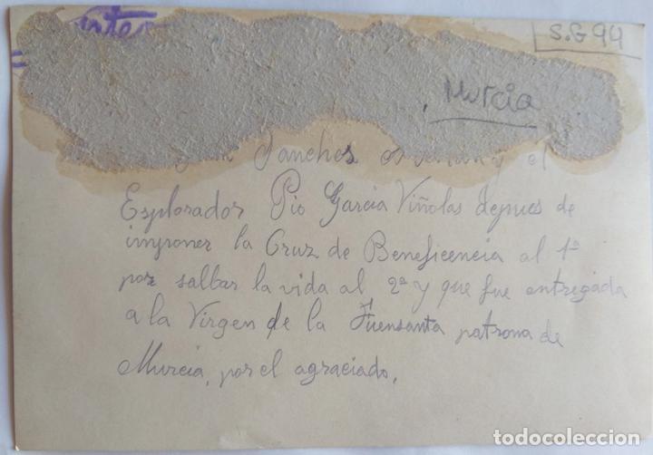 Fotografía antigua: MURCIA 1928 ESPLORADOR PIO GARCIA VIÑOLAS - Foto 2 - 163972834