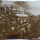 Fotografía antigua: SAGUNTO 1928 MANIFESTACION AL PASO DE HILARIO MARTINEZ. Lote 164772062