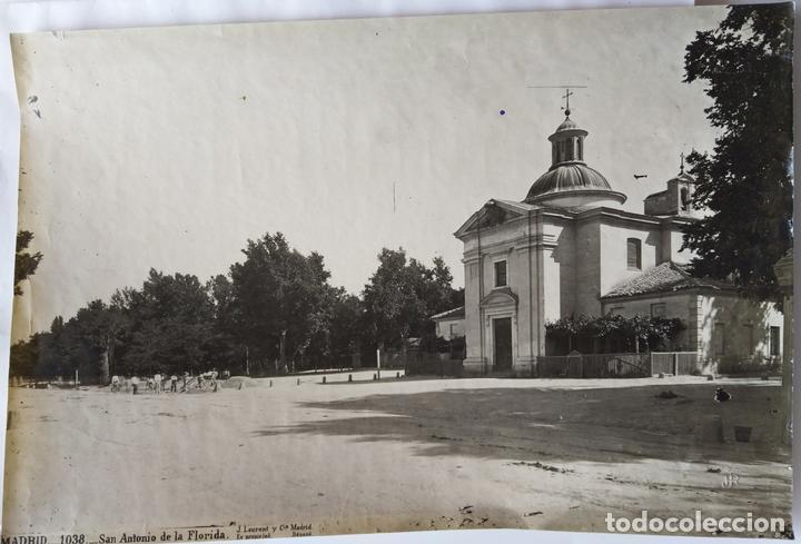 MADRID SAN ANTONIO DE LA FLORIDA J. ROIG (Fotografía Antigua - Albúmina)