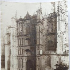 Fotografía antigua: PLASENCIA FACHADA DE LA CATEDRAL J.ROIG. Lote 164832902