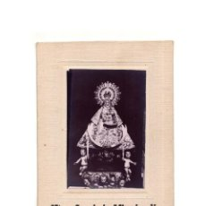 Fotografia antica: CUENCA.- FOTOGRAFÍA DE NUESTRA SEÑORA DE LA MISERICORDIA. PATRONA DE LA PUEBLA DE ALMENARA.14,5X10,5. Lote 165167970