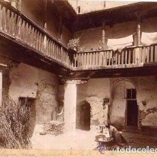 Fotografía antigua: LOTE DE 2 FOTOGRAFÍAS. GRANADA. ANTIGUO AYUNTAMIENTO LA MADRAZA Y ANTIGUA CASA DEL CHAPIZ. Lote 165410458